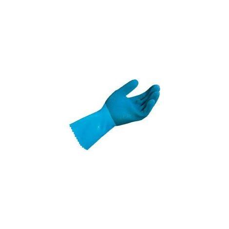 Guante Jersette 301, talla 9, azul