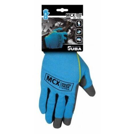 Guante Mecanico Xl10 Mecanix Cuero Azul Juba