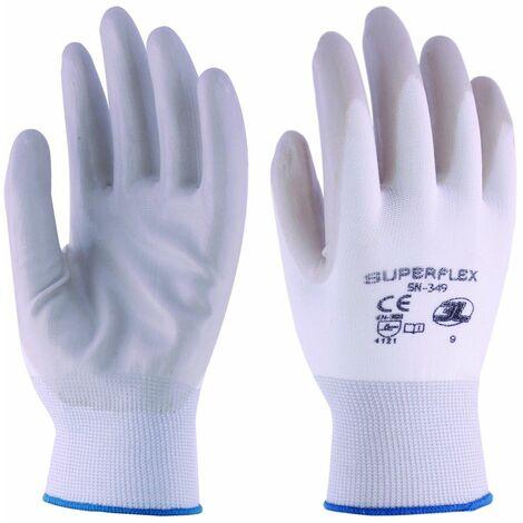 Guante Mecanico Xl10 P/nit Superflex Nyl Bl/gr 3l
