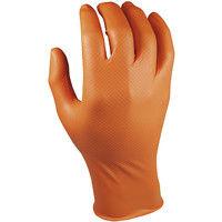 Guante Nitrilo Desechable Caja 50 Xxl - GRIPPAZ - 580 Naranja