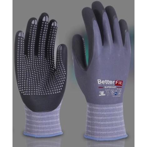 Guante Nylon Nitrilo Foam T.7 - 3L SUPERDOT - Bl-008