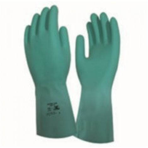 Guante quimico s07 indust 3l nitr. ver rnf-15 nitril 330 t-7