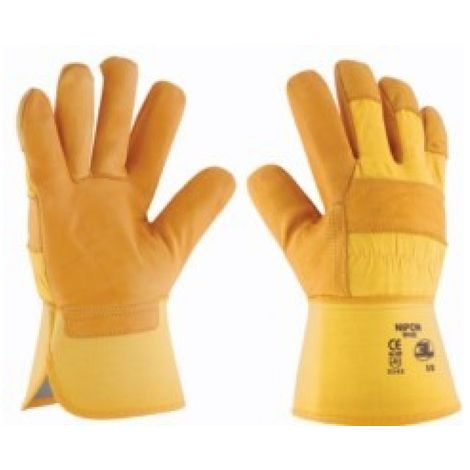 Guante siderurgia xl10 americano 3l piel ama gp-022 refor ni