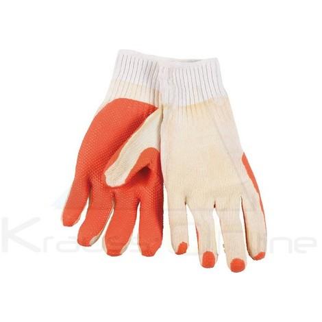 Guante trabajo látex coat rojo/blanco (KRTW006XL)