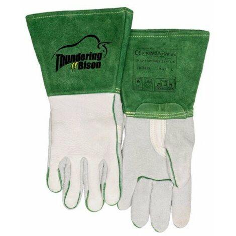 Guante verde soldador ThunderingBison™