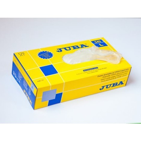 Guante Vinilo Desechable Caja 100 - Juba - 540 - Xl