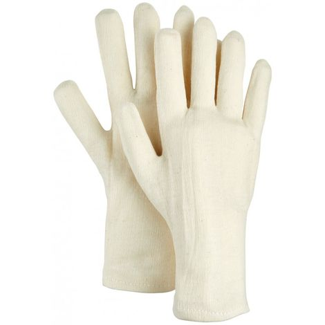 Guantes de trabajo 5 dedos BW-Natur, Talla 10 (por 12)