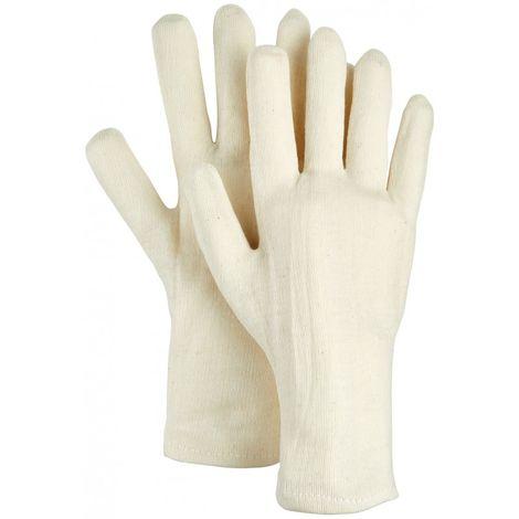 Guantes de trabajo 5 dedos BW-Natur, Talla 8 (por 12)