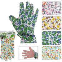 Guantes Jardin Flores Colores 12.5X1X25 - - Ck9290060