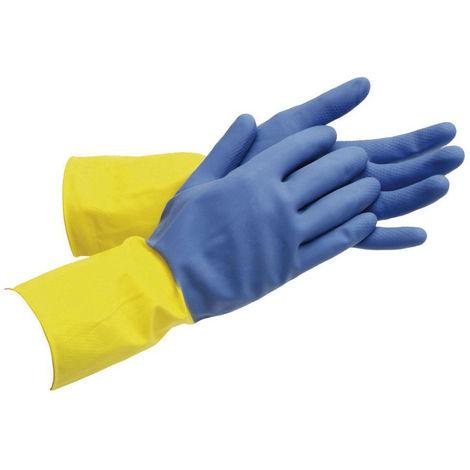 Nitrilhandschuhe 20 par de trabajo guantes guantes amarillo talla 10 XL