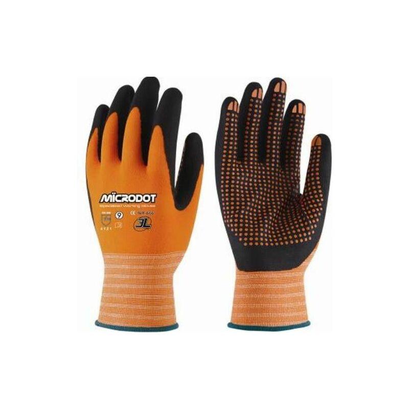 3L - Gant Nylon Orange Microdot T-10 Wx-666 T10