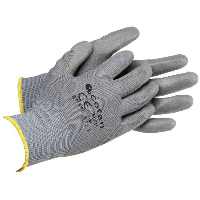 Guante Nylon//Pvc Con Velcro Ninja//T9 Juba