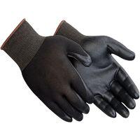 Guanti Spalmati in Nitrile da lavoro Neri o grigi alta qualità giardinaggio meccanica moto (PROMO 12 PACK)