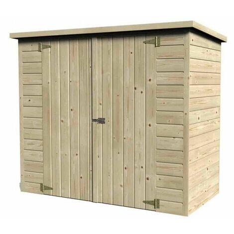 Guarda Bicis en madera. 12 mm, 182 x 88 cm, 1,55m²