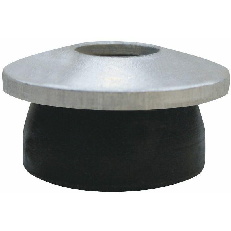 Guarnizione di tenuta Mini Baz in EPDM con rondella in alluminio. Diametro guarnizione 15 mm. Diametro fo