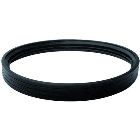 """main image of """"Guarnizione siliconica alta temperatura per tubo inox"""""""