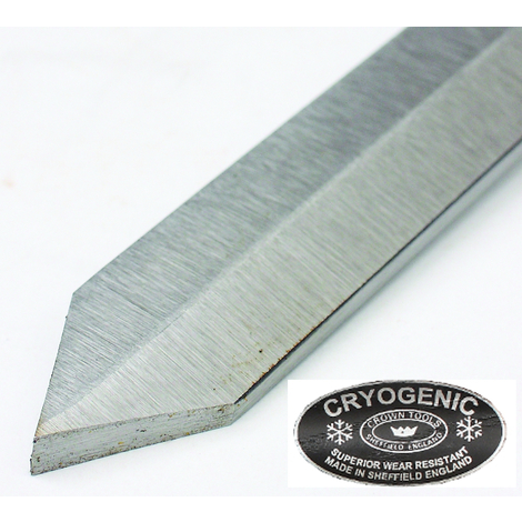 Gubia segador diamante Criogénica Diamante Parting tool 5 mm Crown