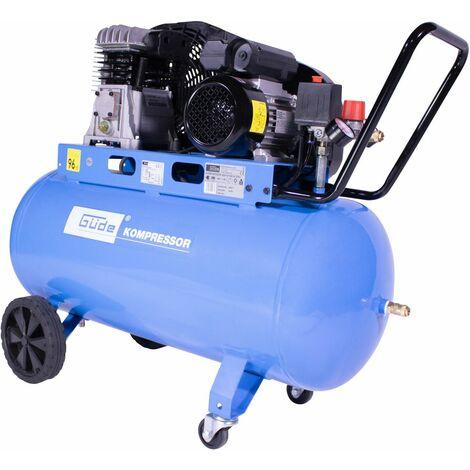 GÜDE 420/10/100 230V - Compresor bicilindros, capacidad 100 litros 10 bar.