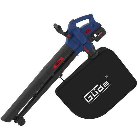 """Güde Aspirateur de feuilles à batterie """"LS 36-302-30"""" avec batterie et chargeur"""