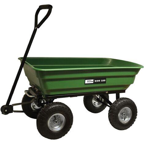 Güde Chariot de jardin - GGW 250 - 75 L - capacité maximale 250 kg