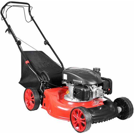 GÜDE ECO WHEELER 462.1 R - Cortacésped de gasolina autopropulsado, capacidad 40 litros