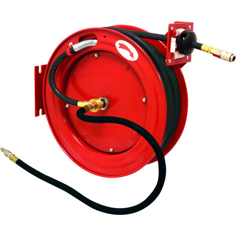 Güde Enrouleur automatique de tuyau 15 m