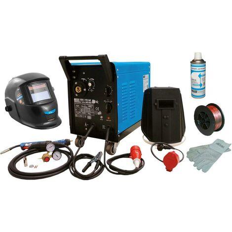 Güde Ensemble de machine inerte gaz de soudage MIG 192/6K, 8-pièces - 72060