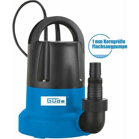 GÜDE GFS 401 S - Bomba achique agua limpia con flotador electrónico y succión 1 mm 400W