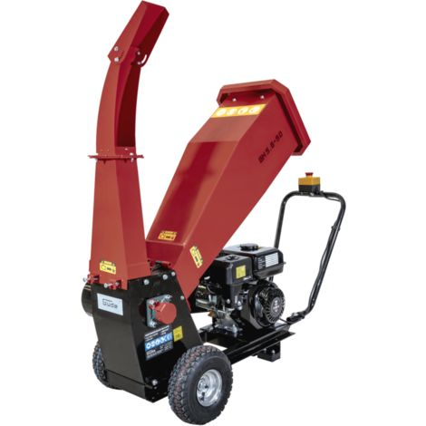 GÜDE GH 5.6-50 - Biotrituradora con motor de gasolina de 4 tiempos, diámetro máximo recomendado de ramas 50 mm