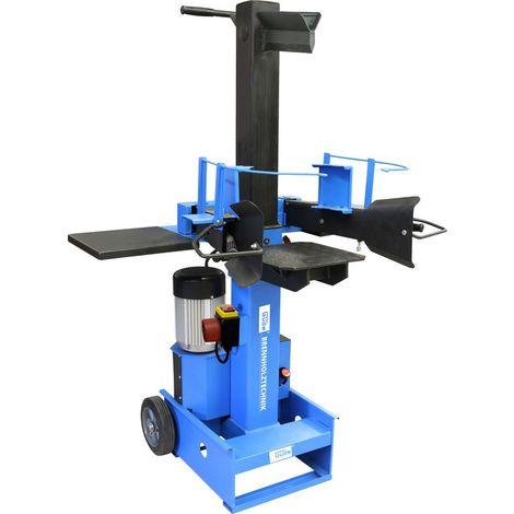 GÜDE GHS 500/8TD - Astilladora de troncos vertical de 8 toneladas. Alimentación trifásica, adecuada para uso intensivo