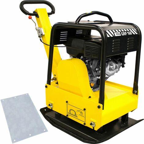 GÜDE GRP 160 - Placa vibratoria combustión interna, área de trabajo 700x500 mm