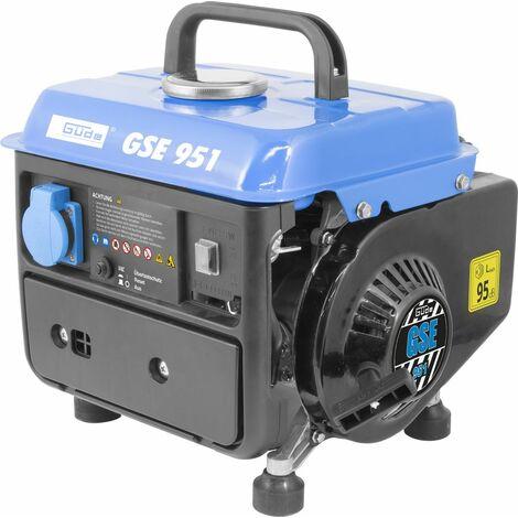 GÜDE GSE 951 - Generador / grupo electrógeno 720W