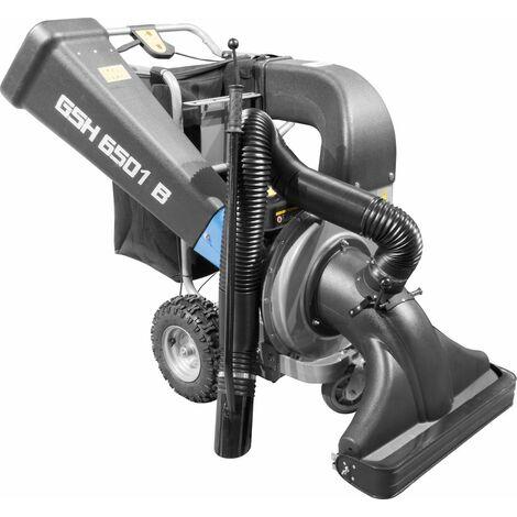 GÜDE GSH 6501 B - Aspiradora de hojas y trituradora de gasolina. Apto para uso intensivo