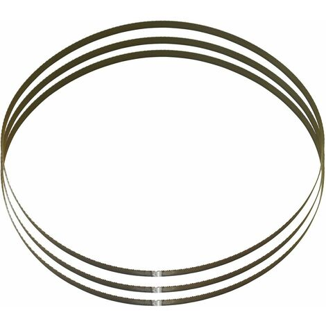 GÜDE - Hoja de sierra de cinta MBS 125 V (1435x13x0,65mm 8/12)