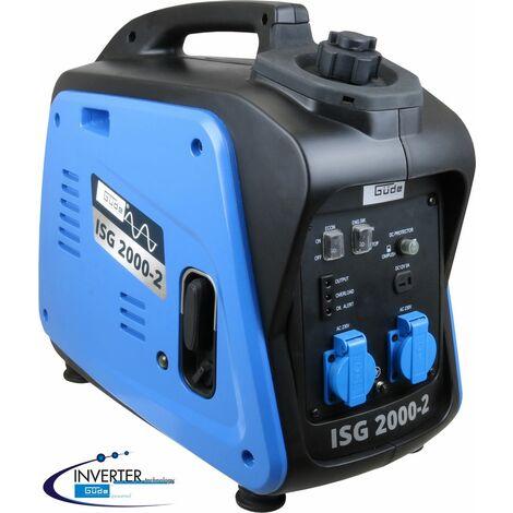 GÜDE ISG 2000-2 - Generador de corriente / grupo electrógeno de 4 tiempos, 2000W