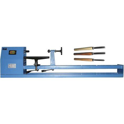 Güde Kit Tour à bois Typ 1000 CE + Jeu de 3 outils de tournage - 501