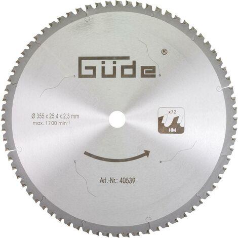 Güde Lame de scie 350x2.6x25.4mm - 40539