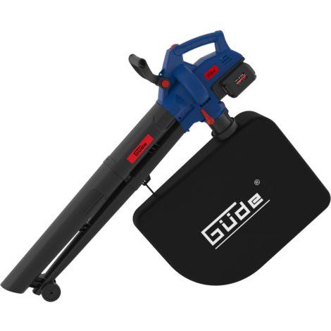 GÜDE LS 36-302-30 - Aspirador / soplador / triturador alimentado por batería de 36V
