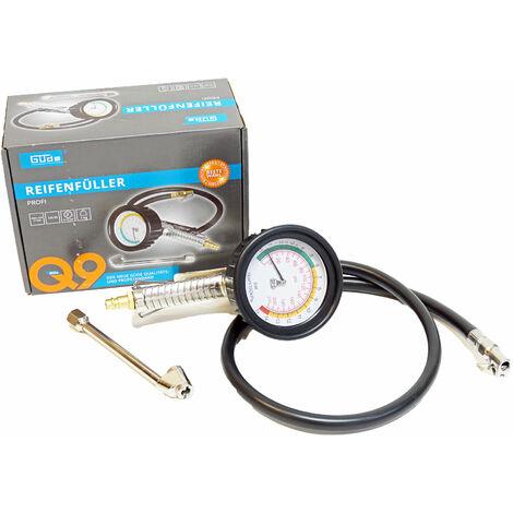 Profi Druckluft Reifenfüller Reifenfüllgerät mit Manometer für Kompressor 15 bar