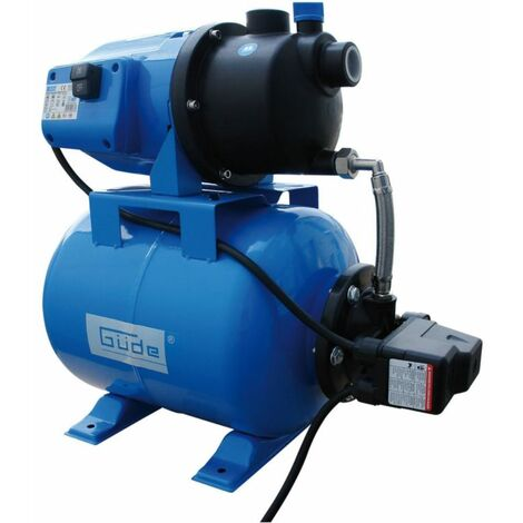 Güde Surpresseur avec réservoir HWW 3100 G / 900 watts de refoulement max. : 28 m