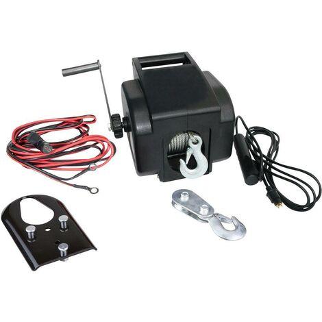 Güde Treuil électrique 12 VOLT, Puissance de traction 900 kg - 55127