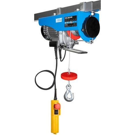 Güde Treuil électrique 780W - Max. 400 kg - GSZ 200/400