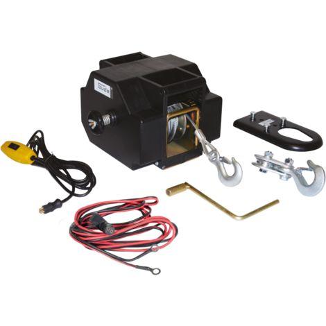 Güde Treuil palan à câble électrique 1800 kg 12 V