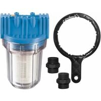 Güde universal Filter kurz mit Einsatz geeignet für Hauswasserwerke und Gartenpumpen Schmutzfilter