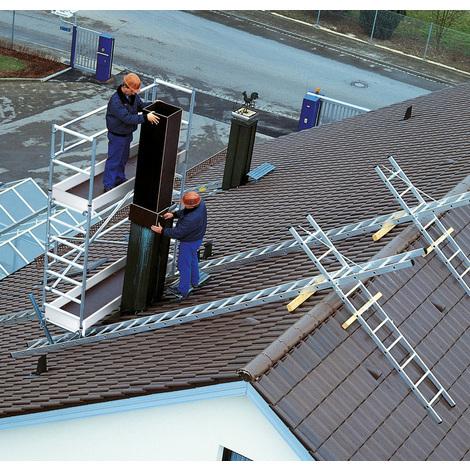 Günzburger Aufbaueinheit für Dach- und Kamingerüst