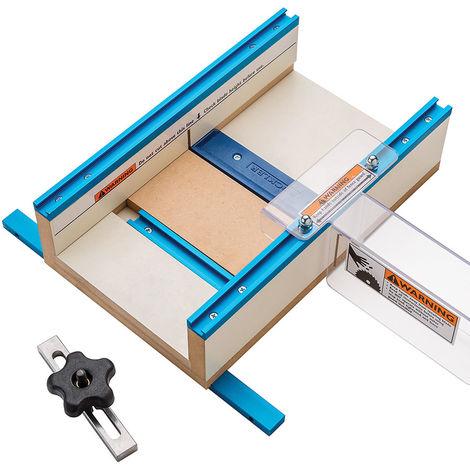 Guía para cortes en piezas de trabajo pequeñas 305 x 394 x 89 mm (12' x 15-1/2' x 3-1/2') - NEOFERR