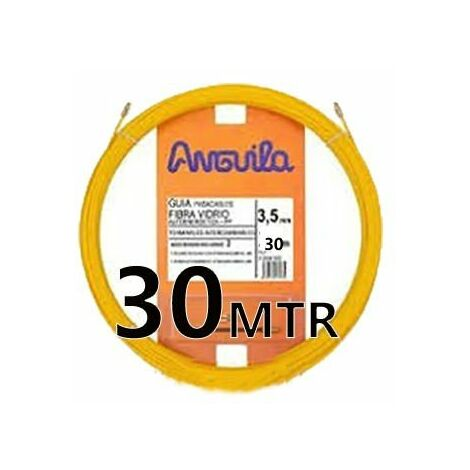 Guia Pasacable Fibra 3,5MM 30MT Amarilla