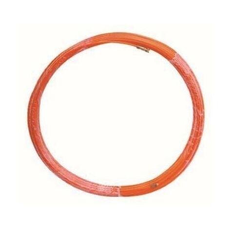 Guía pasacables de fibra de vidrio + metal 4mm 20 metros GSC 0601068