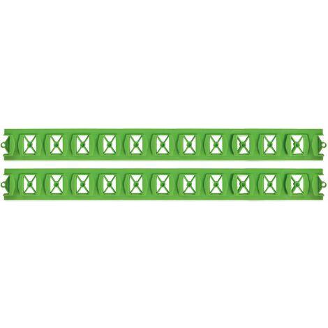 Guía plástica para la instalación de suelo radiante BEKIA - 30,5 x 3,15 CM