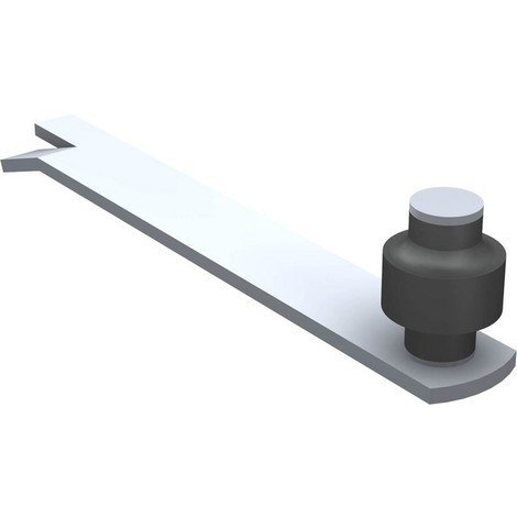 Guide à scellement horizontal 1091 MANTION SA - 1 olive zytel - Ø 45 mm - 1091